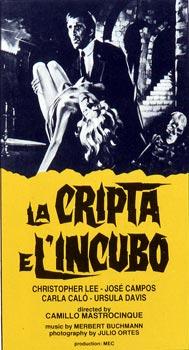 CRIPTA E L'INCUBO (LA)