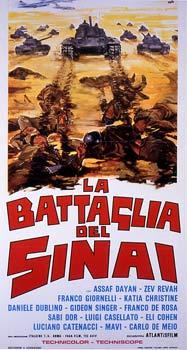 BATTAGLIA DEL SINAI (LA) (Cinque giorni nel Sinai)