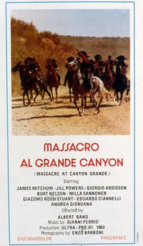 MASSACRO AL GRANDE CANYON (IL)