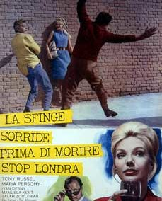 SFINGE SORRIDE PRIMA DI MORIRE STOP LONDRA (LA)