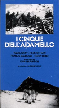 CINQUE DELL'ADAMELLO (I)